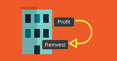 Some Companies Reinvest The Profits For Growth