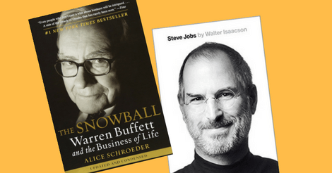 Learn From Bigraphies Of Buffett & Jobs